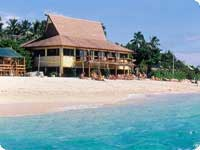 Poroka v tujini, Fidži hotel Beachcomber Island Resort