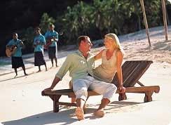 Poroka v tujini, Fidži hotel Malolo Island