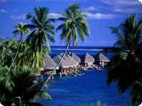 Poročno potovanje, Francoska Polinezija, Tahiti hotel Intercontinental Resort