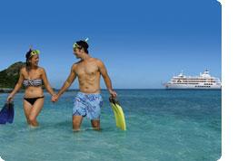 Sanjska potovanja, Fidži, Počitnice na Viti Levu in križarjenje