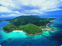Sanjsko potovanje, Sejšeli, počitnice na otoku Praslin