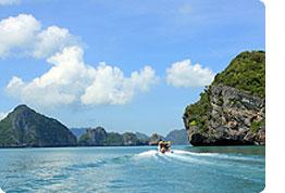 Sanjska potovanja, Tajska, Počitnice na otoku Koh Samui