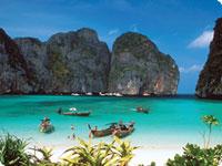 Sanjska potovanja, Tajska, Počitnice na otočkih Phi Phi