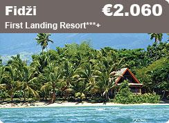 Poročno potovanje, Fidži