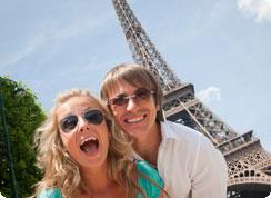 Poročno potovanje, Francija