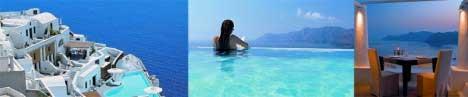 Poročno potovanje, Santorini
