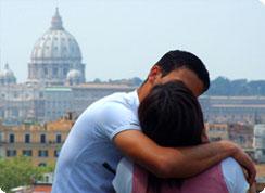 Poročno potovanje, Italija