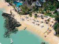 Poročno potovanje, Mauritius hotel Merville