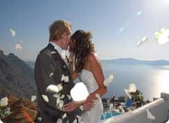 Poroka v tujini, Grčija, Santorini