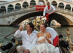 Poroka v tujini, Italija, Benetke