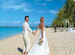 Poroka v tujini, Karibi, St Lucia, poroka na plaži