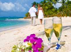Poroka v tujini, Karibi, Tobago, poroka na plaži