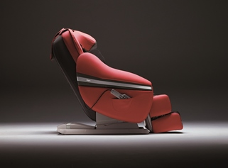 masažni stol - sogno - rdeč